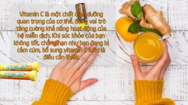 Bổ sung vitamin C đúng cách cho sức đề kháng khỏe mạnh
